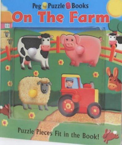 On the Farm: Peg Puzzle Books