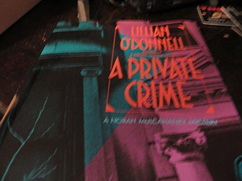 9780749900885: A Private Crime