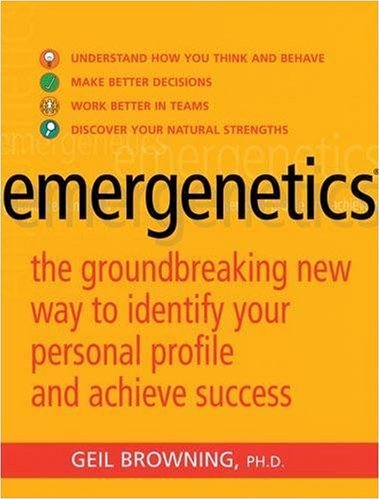 9780749926595: Emergenetics: The Groundbreaking New Way to Identify Your Personal Profile and Achieve Success: The