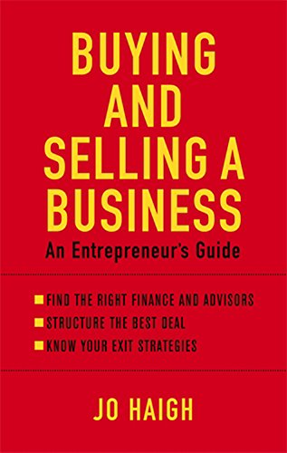 9780749942465: Buying and Selling a Business: An Entrepreneur's Guide
