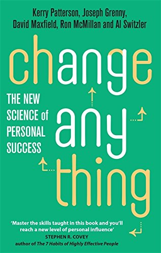 9780749955731: Change Anything: The new science of personal success