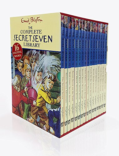 9780750058001: Secret Seven Complete Library 16c Slipcase (Classic 1-15 + Short Story Collection)