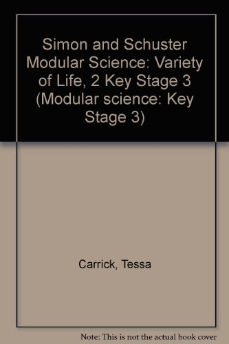 9780750104807: Simon and Schuster Modular Science: Variety of Life, 2 Key Stage 3 (Modular science: Key Stage 3)
