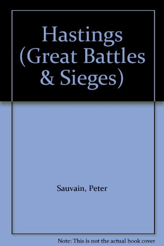 9780750206242: Hastings (Great Battles & Sieges)