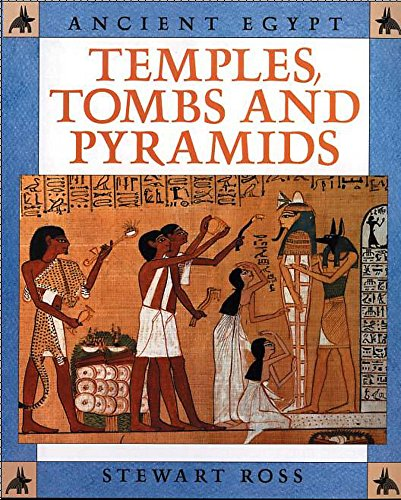 9780750227551: Temples, Tombs and Pyramids (Ancient Egypt)
