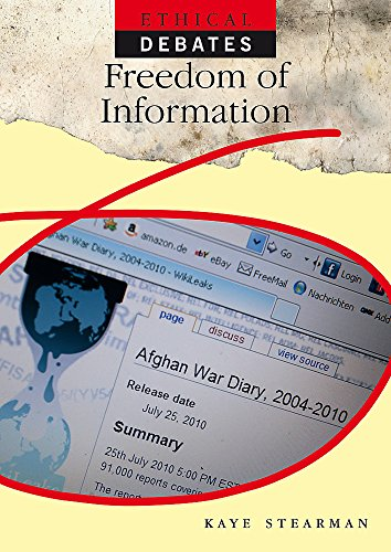 9780750265935: Freedom of Information (Ethical Debates)