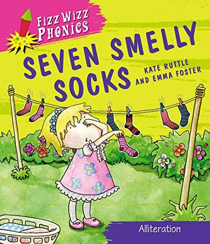 9780750266529: Seven Smelly Socks. Kate Ruttle (Fizz Wizz Phonics)