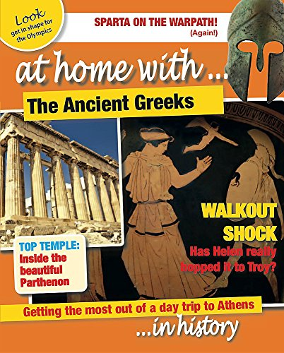 9780750289771: The Ancient Greeks (At Home with)