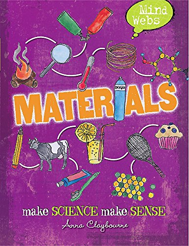 Mind Webs: Materials (Paperback): Anna Claybourne