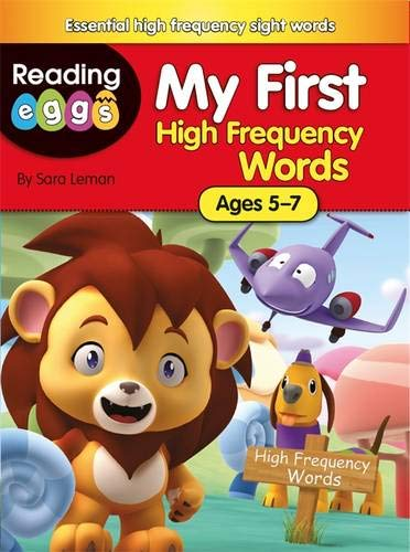 9780750294973: My First High Frequency Words (Reading Eggs)