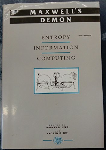 9780750300568: Maxwell's Demon, Entropy, Information, Computing