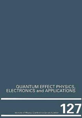 Quantum Effect Physics, Electronics and Applications, Proceedings: Ismail, K., Ikoma,