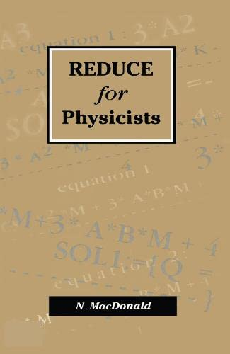 9780750302777: REDUCE for Physicists