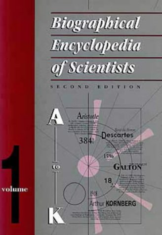 9780750302876: Biographical Encyclopedia of Scientists, Second Edition - 2 Volume Set