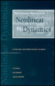 9780750303798: Nonlinear Dynamics: A Two-way Trip from Physics to Math