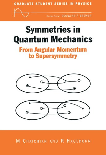 9780750304085: Symmetries in Quantum Mechanics: From Angular Momentum to Supersymmetry (PBK) (Graduate Student Series in Physics)