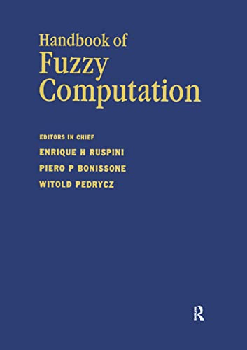 9780750304276: Handbook of Fuzzy Computation (Computational Intelligence Library)