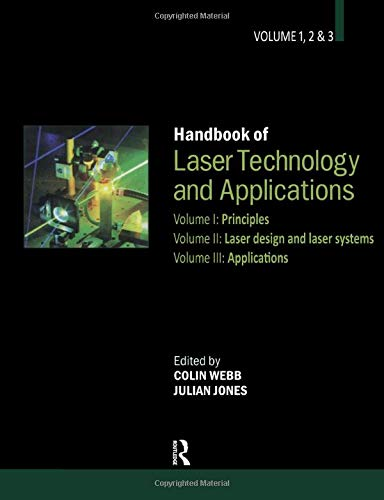 9780750306072: Handbook of Laser Technology and Applications (Three- Volume Set) (Vols 1-3)