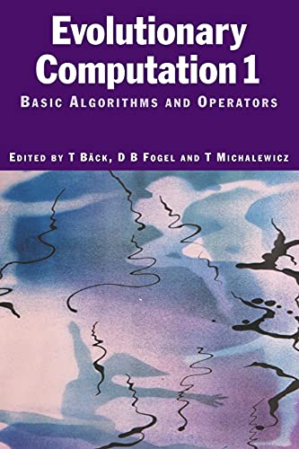 9780750306645: Evolutionary Computation 1: Basic Algorithms and Operators