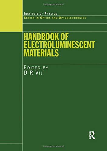 The Handbook of Electroluminescent Materials (Hardback)