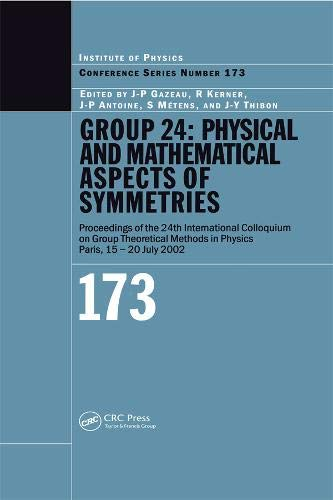 Group 24: Physical And Mathematical Aspects Of Symmetries: 173 (Conference)