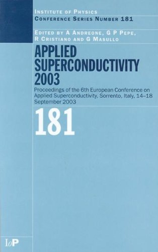 Applied superconductivity 2003; proceedings. (CD-ROM included) (Institute of Physics conference ...