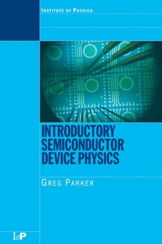 9780750310215: Introductory Semiconductor Device Physics