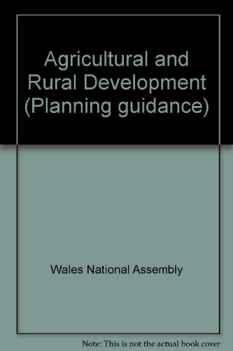 Agricultural and Rural Development.: The National Assembly for Wales.