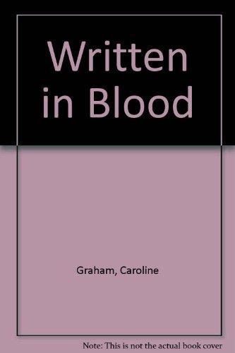 9780750508483: Written in Blood