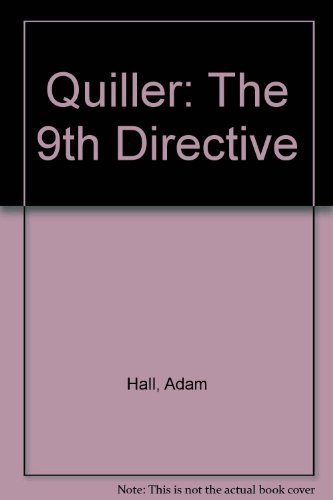 9780750509558: Quiller: The 9th Directive