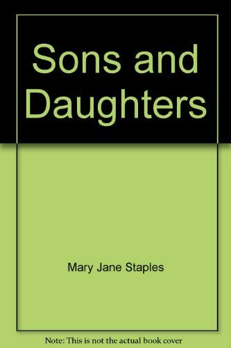 9780750519441: Sons and Daughters