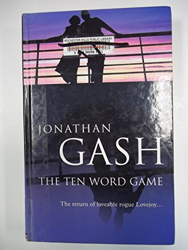 9780750520881: The Ten Word Game (Lovejoy Mystery)