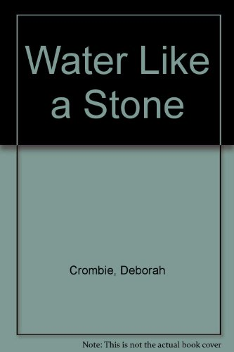 9780750527873: Water Like a Stone