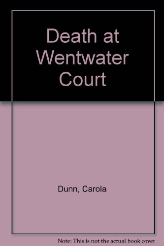 9780750531474: Death At Wentwater Court