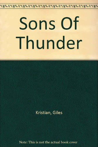 9780750533928: Sons Of Thunder
