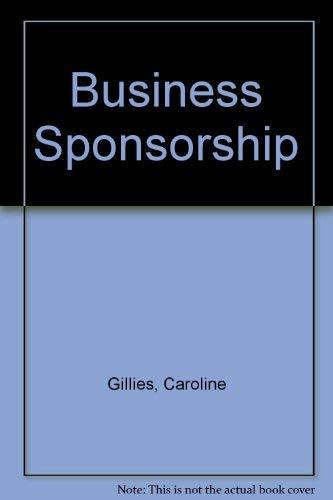 "Business Sponsorship: Gillies, C."""