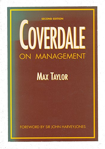9780750601504: Coverdale on Management