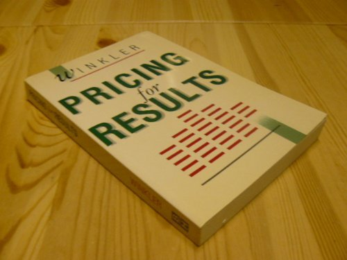 9780750601634: Pricing for Results