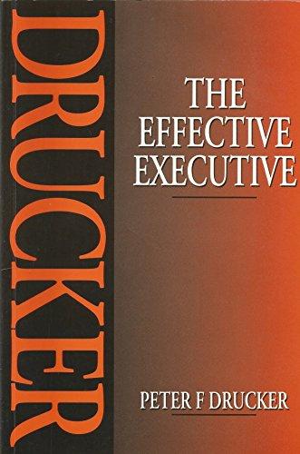 9780750608343: The Effective Executive