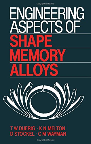 9780750610094: Engineering Aspects of Shape Memory Alloys