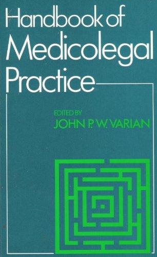9780750612388: Handbook of Medicolegal Practice, 1e