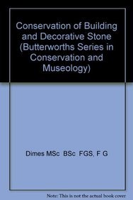 9780750612777: Conservation of Building and Decorative Stone (Butterworths Series in Conservation and Museology)