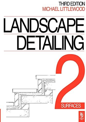 9780750613033: Landscape Detailing, Volume 2 : Surfaces