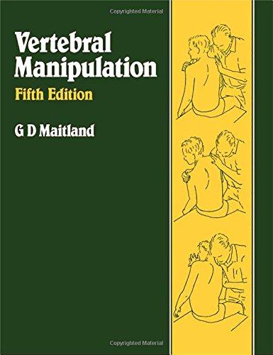 9780750613330: Vertebral Manipulation