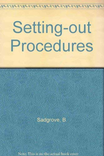 9780750614788: Setting-out Procedures