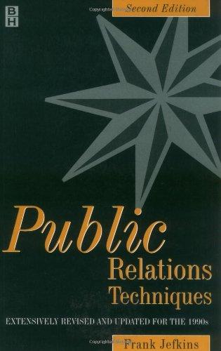 Public Relations Techniques: Frank Jefkins