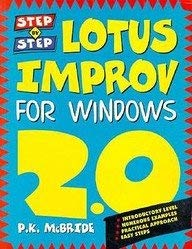 9780750618731: LOTUS IMPROV FOR WINDOWS (Step-By-Step)