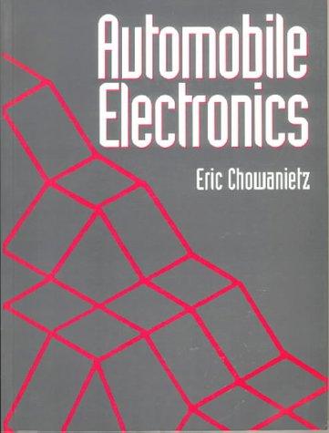 9780750618786: Automobile Electronics