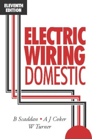 9780750620581: Electric Wiring Domestic, Eleventh Edition