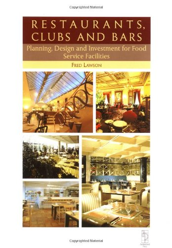 9780750620765: Restaurants Clubs and Bars, Second Edition (Library of Planning & Design)